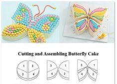"""Résultat de recherche d'images pour """"gateau papillon anniversaire"""""""