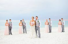 Bridal party! destin wedding florida by princess wedding