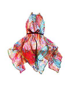 Spotted this Sophie Catalou Girls' Paisley Print Handkerchief Dress on Rue La La. Shop (quickly!).