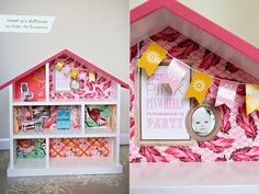 Ammmmaaaaaazingly cute dollhouse.