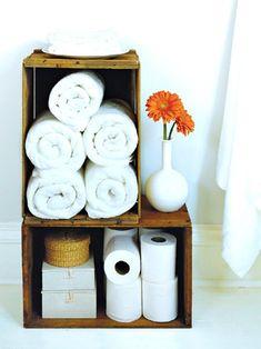 organizing :: bathroom Bathroom Storage Ideas