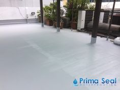 Prima Seal Waterproofing Singapore S Trusted Team Provided A 5 Layers Acrylic Waterproofing Membrane Fibreglas Reinforced Concrete Roof Waterproofing Concrete