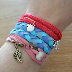 Armbandjes maken met Restjes