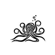 Small Octopus Tattoo 1