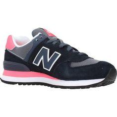 trendy New Balance wl574 cpl dames sneakers (Zwart)