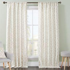 VCNY Clinton Drape Curtain Panel & Reviews | Wayfair