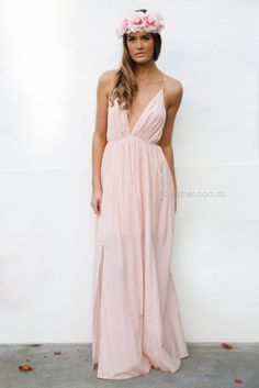 pre-order - jude maxi - dusty pink - arrives to our warehouse approx mid june