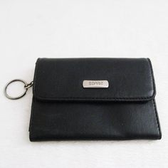 """Esprit Black Leather Small Wallet Esprit Small Leather Coin Purse Wallet. Pre-owned in very good condition. No visible flaws. Dimensions: 3.5""""H x 4.5""""  ❌TRADE❌SWAP ✔️15% OFF on Bundles. Reasonable offers are welcome. All sales are final. Thanks for looking! ESPRIT Bags Wallets"""