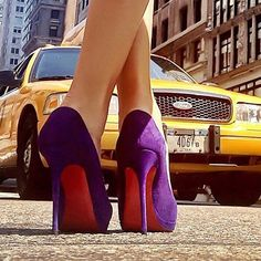 #Throwback to that one time, over two years ago, when I had my friend lay on the ground on Fifth Ave to take that perfect #Louboutin #shoefie.