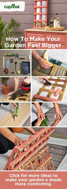Painting outdoor furniture has never been easier with this simple garden how to guide. Click for even more garden inspiration ideas too. #GardenIdeas #GardenInspiration #GardenDesign #GardenDIY #Spring #Summer