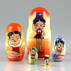 Betty Boop Nesting Dolls