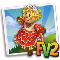"""L'Oasi nel Deserto: Trucco Farmville2 : Spaventapasseri """"ballerina di ..."""