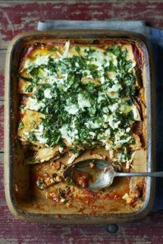 Vegetable lasagna without pasta - I Love Food & Wine - Healthy recipe for a creamy vegetarian, low-carb and gluten-free lasagna with eggs, parmesan cheese - Pureed Food Recipes, Veggie Recipes, Wine Recipes, Healthy Recipes, Night Dinner Recipes, Vegetarian Recipes Dinner, Veggie Lasagne, I Love Food, Good Food