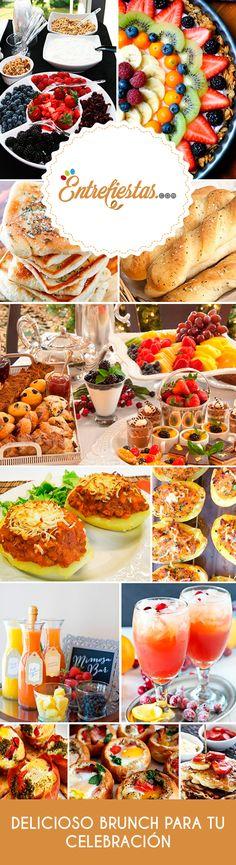 El brunch es un servicio que consiste en colocar un buffet con un menú fresco y adecuado para servirse entre las últimas horas de la mañana y las primeras de la tarde. Es ideal para eventos realizados durante el día. Este post te ayudará a que tengas un brunch exitoso que encantará a todos tus invitados.