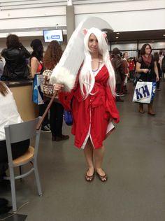 Inuyasha Cosplay. Edmonton Comic & Entertainment Expo 2015.