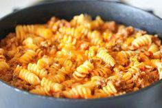 Crockpot Cheeseburger Macaroni Casserole | Food Recipes