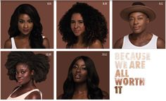 L'Oreal True Match Foundation with WOC shades #beauty #woc #brownbeauty