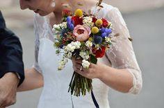 Algo nuevo, algo prestado y algo azul: Mis ramos de novia preferidos