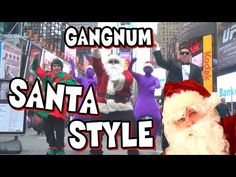 Santa Gangnam Style Funny and Catchy tune.