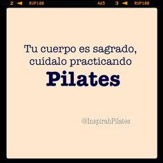 """@inspirahpilates's photo: """"Tu cuerpo es sagrado, cuídalo practicando #Pilates"""""""