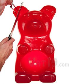 The 26-pound Party Gummy Bear: Gigantic gummy candy