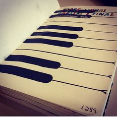 Wreck this journal piano