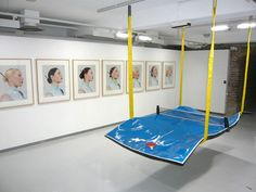 wearenapoleon: works by laurent perbos. Man Cave Diy, Beauvais, Mood Images, Parking Design, Co Working, Backyard Games, Exhibition Space, Table Games, Ping Pong Table