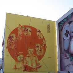 by Mattia Campo dall'Orto - Street art in Ponticelli, the neglected outskirts of Naples || Read my blogpost here: http://www.blocal-travel.com/italy/street-art-in-ponticelli/