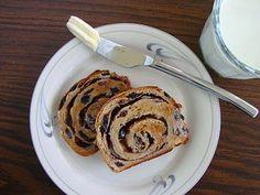 cinnamin swirl raisin bread .....good recipe ....Christmas morning tradition in our house.
