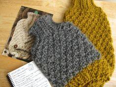 erica knits: Hot Water Bottle Cozy