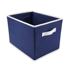 Buy Wendy Bellissimo™ Mix & Match Storage Bin in Navy from Bed Bath & Beyond