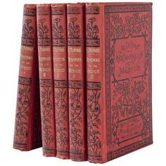 5 Volume Set Memorias De Un Medico of Alehandro Dumas ($95) ❤ liked on Polyvore featuring beauty products and books