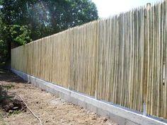 Clôtures brise-vue écologiques en bois de châtaignier