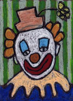 Clowns takes me right back to black velvet paintings, but the subject matter tends to really bring out the creative side of students. Maybe it's the permission to be silly, which hopefully of goes without saying when drawing a clown face. 1. I started with a 9″ x 13″ black piece of paper and pencil. I … Read More