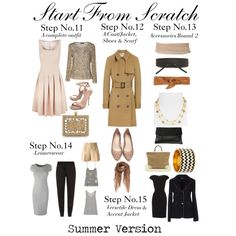 """Start From Scratch Steps 11 to 15"" by charlotte-mcfarlane on Polyvore"