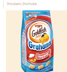 Pepperidge Farm® - Goldfish® Grahams Strawberry Flavored with other natural flavors