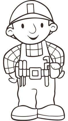 Culpitt - Bob the Builder and Friends Sugarettes Bob The Builder, Construction Party, Felt Patterns, Coloring For Kids, Colouring Pages, Colorful Pictures, Preschool Activities, Rock Art, Kids And Parenting