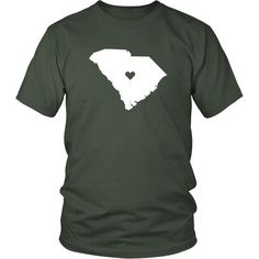 South Carolina Love State T-shirt