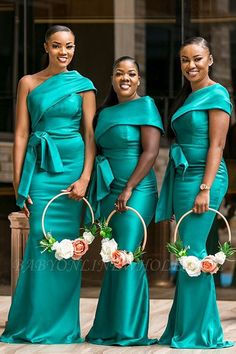 Bridesmaid Dresses With Belt African Women Long Maid Of Honor Dress Party Gowns sold by KProm. Shop more products from KProm on Storenvy, the home of independent small businesses all over the world. African Bridesmaid Dresses, One Shoulder Bridesmaid Dresses, Mermaid Bridesmaid Dresses, Bridesmaid Bouquets, Party Gowns, Wedding Party Dresses, Wedding Attire, Dress Party, Wedding Outfits