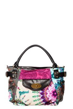 Desigual women's Mcbee Universe bag. The perfect everyday-bag, you can wear it as a messenger bag or carry it on your forearm. You choose!