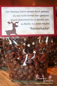 Rentierkacke Source by hofmannwei Christmas Is Coming, All Things Christmas, Winter Christmas, Christmas Time, Christmas Crafts, Merry Christmas, Xmas Gifts, Christmas Presents, Homemade Gifts