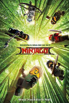 Poster de LEGO Ninjago: La Película (2017) DVDRip Latino + Subs
