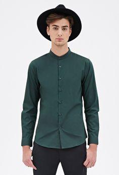 Asian mandarin collar shirts