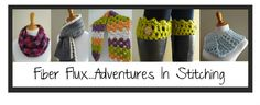 Fiber Flux...Adventures in Stitching: Free Crochet Pattern...Fiona Button Scarf!