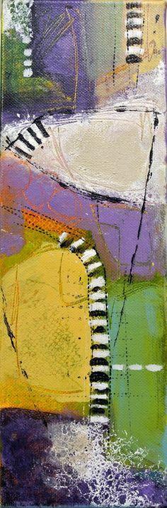 abstract acrylic on canvas