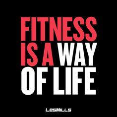 It's not a fad, it's not a trend, it's a way of life. #fitterplanet