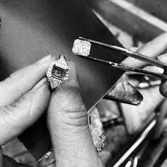 We take our time so your jewelry stands the test of time. #diamondsforgenerations #craftsmanship #MariloffDiamonds  #Regram via @BQ3gw1Sh1r1 Diamond Instagram, Engagement Ring Settings, Engagement Rings, Unique Settings, Jewelry Stand, Dream Ring, Diamond Jewelry, Class Ring, Photo And Video