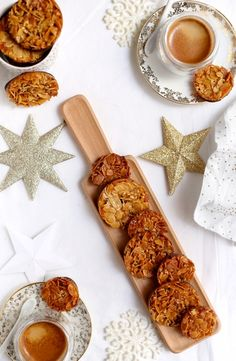 Florentin orange et citron confit | Gourmandiseries Florentines Recipe, Orange Confit, Fodmap, Sweets, Desserts, Christmas, Coffee, Recipes, Cookies