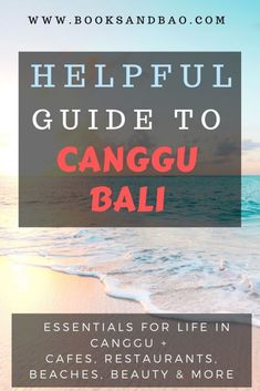 A Helpful Guide to Enjoying Life in Canggu, Bali Bali Travel Guide, Asia Travel, Travel Guides, Travel Tips, Travel Destinations, Canggu Beach, Bao, Southeast Asia, Day Trips