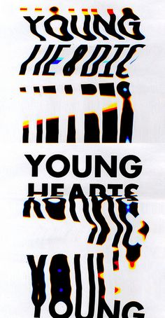 YOUNG HEARTS by GRAPHICS DESIGNED, via Flickr